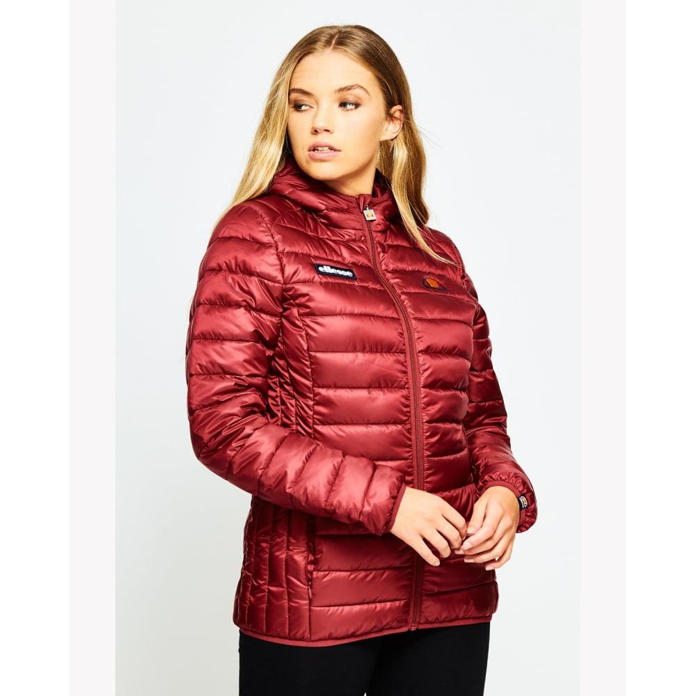 0c0d39571052 ELLESSE Womens Lompard Padded Jacket