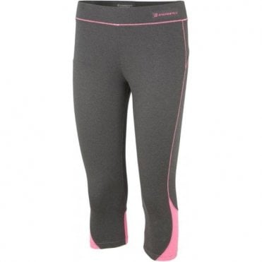 Balp II 3/4 Tights Black/Pink