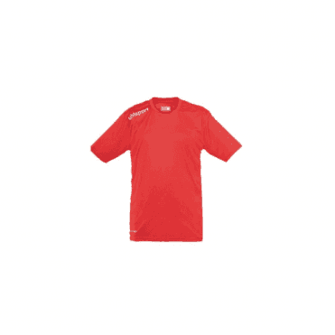 Essentials Polyester Training Tee Red