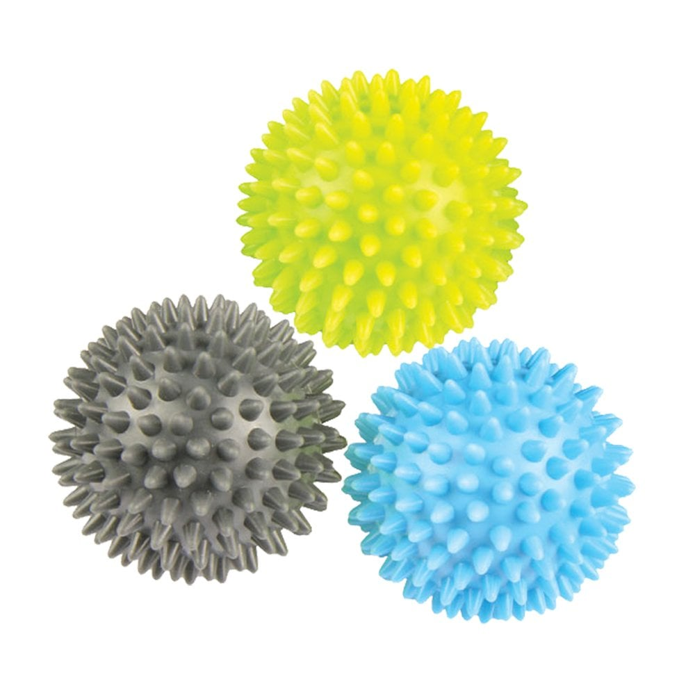 Fitness Mad Trigger Point Massage Balls Set of 3 Massage Muscles