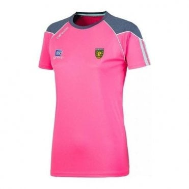 Girls Donegal GAA Dillion 01 Tshirt Pink