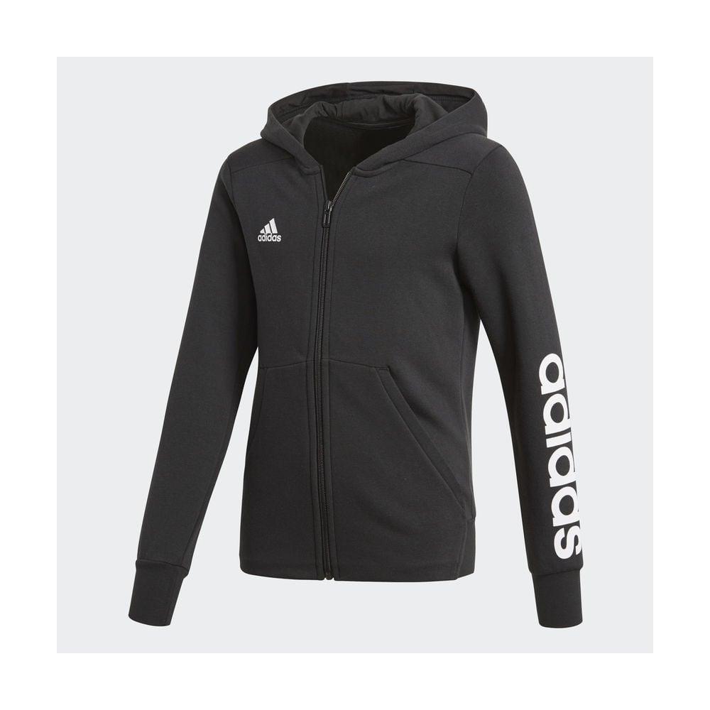 f88f6b11f23 adidas Girls Essentials 3 Stripe Hoodie | BMC Sports
