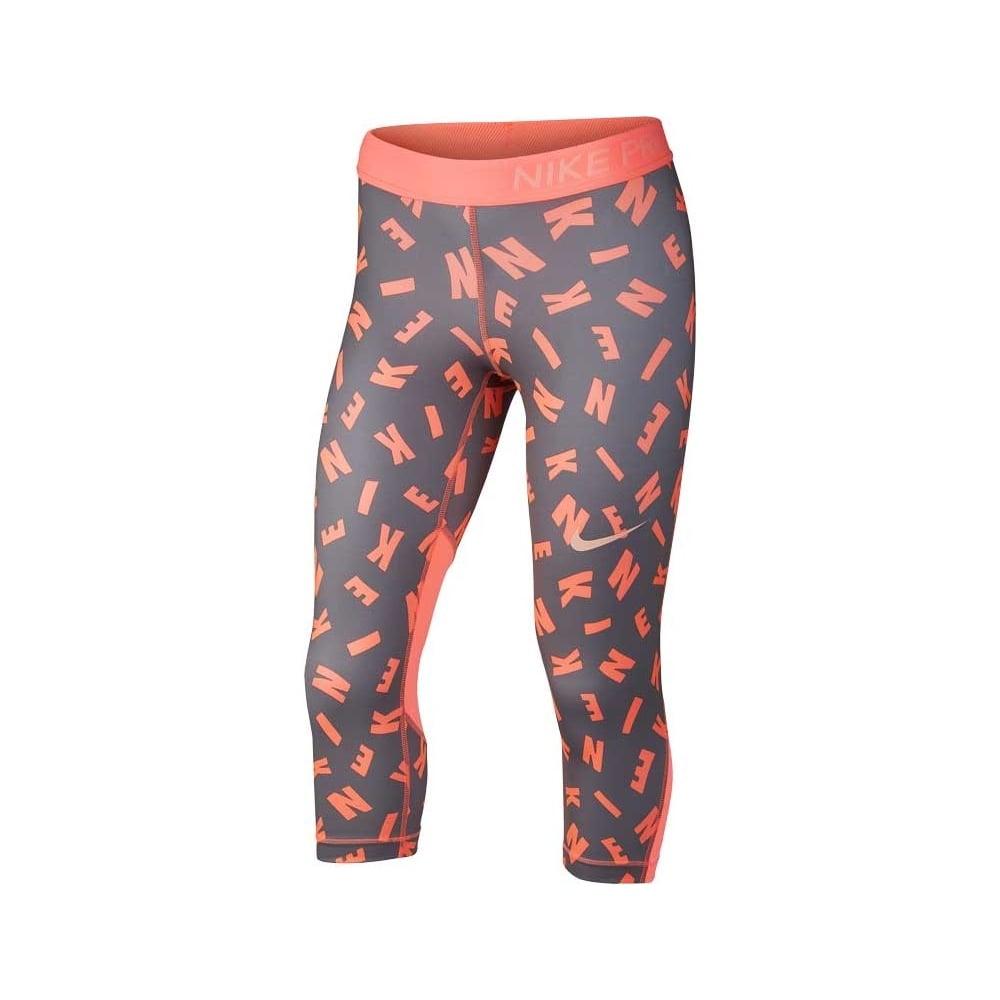 9130a71efda Nike Girls Printed Capri Leggings