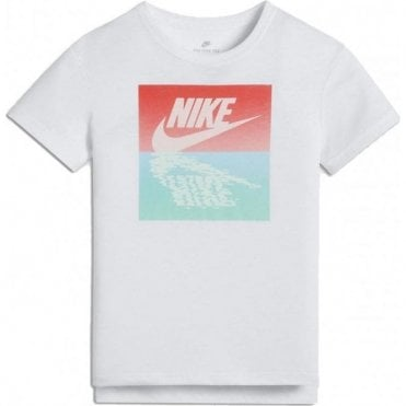 Girls Sportswear Graphic Tshirt White