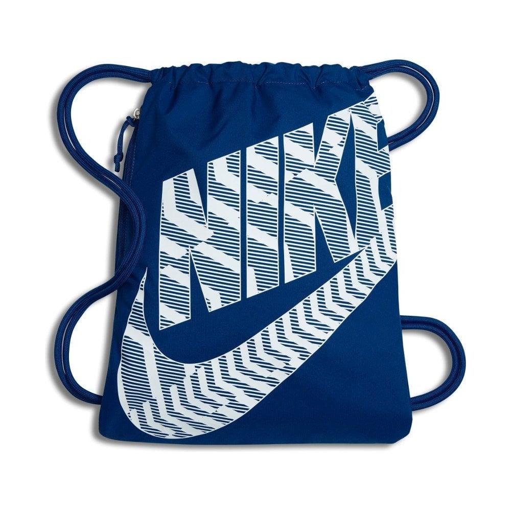 498450fb4 Nike Heritage Gymsack Blue | BMC Sports