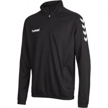CORE 1/2 ZIP SWEAT BLACK