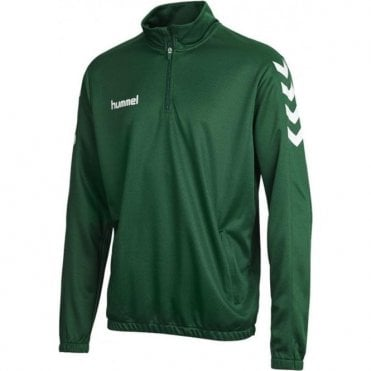 CORE 1/2 ZIP SWEAT EVERGREEN