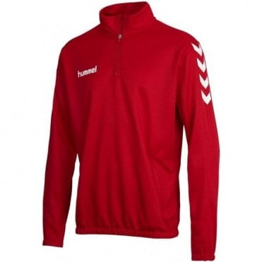 CORE 1/2 ZIP SWEAT TRUE RED