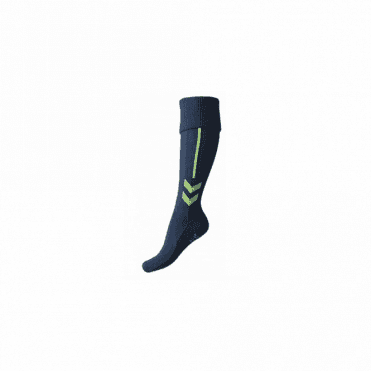 Hummel Classic Football Sock Legion Blue/Green Gecko