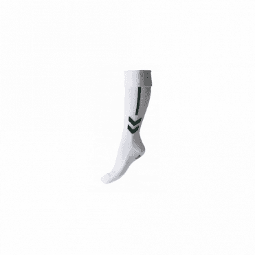 Hummel Classic Football Sock White/Green