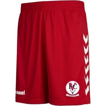 Virginia FC Core Poly Shorts Red