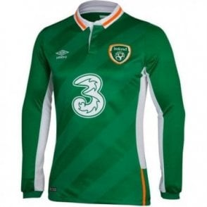 IRELAND HOME LS JERSEY 2016 | IRELAND JERSEYS ONLINE