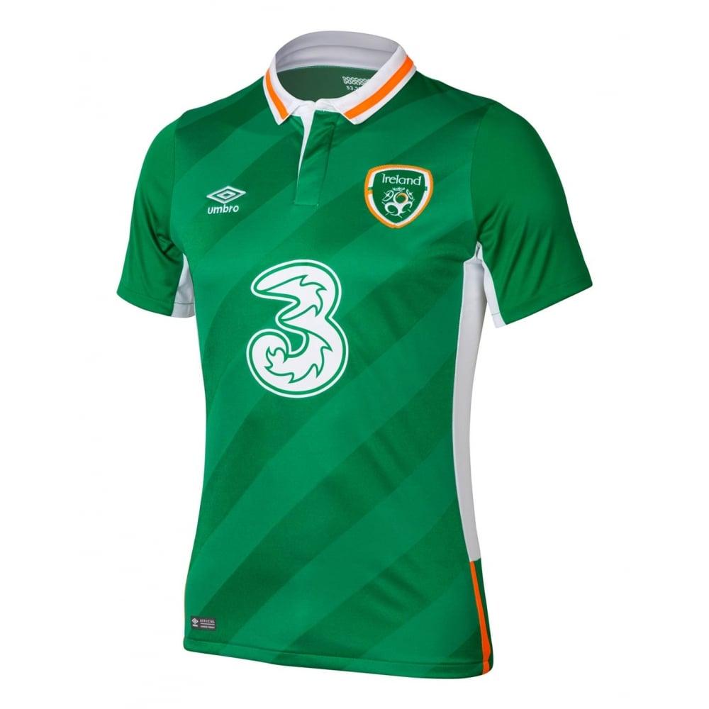 Kid S Ireland Jersey Ireland Soccer Jersey 2016 17