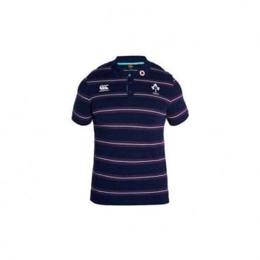 IRELAND RUGBY STRIPED POLO