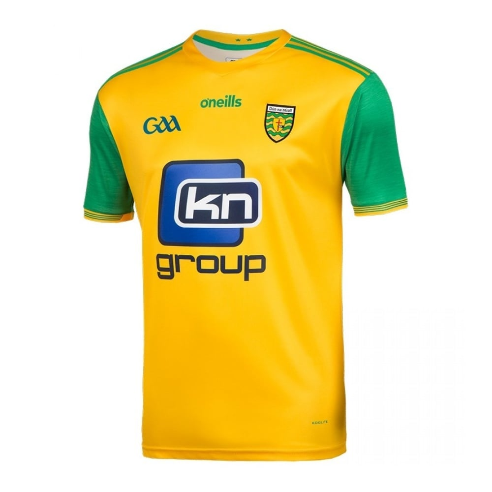 reputable site 0dfd9 afc05 Kids Donegal GAA Home Jersey 2018