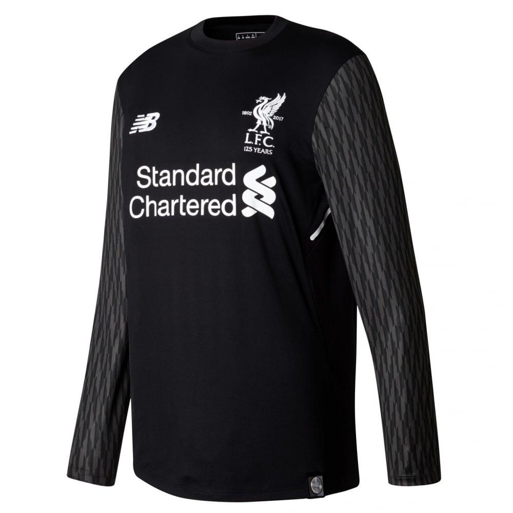 superior quality 64b65 58d7c New Balance Kids Liverpool 17/18 Away GK LS Jersey