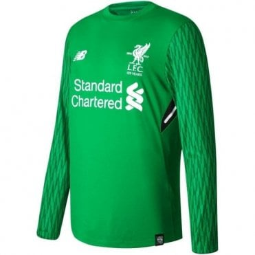 Kids Liverpool 17/18 Home GK LS Jersey
