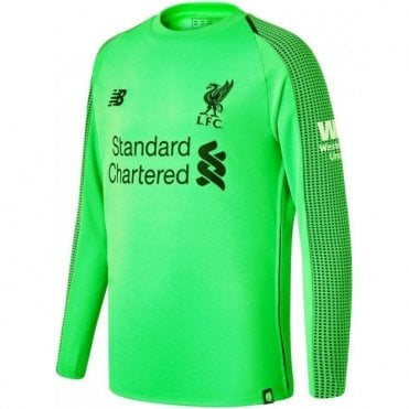 Kids Liverpool GK Away Jersey 18 19 16fac6c88