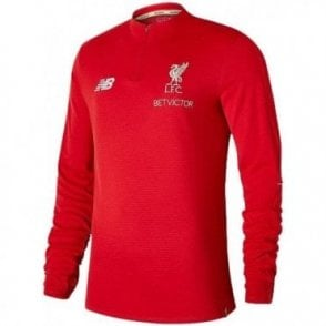 Kids Liverpool Training Midlayer Red