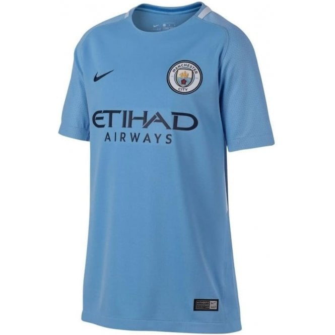 Kids  039  Manchester City FC Home Jersey 426869dd5f35