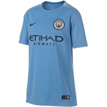 Kids' Manchester City FC Home Jersey