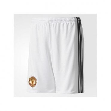 96572a80f6 Kids Manchester United 17 18 Home Shorts