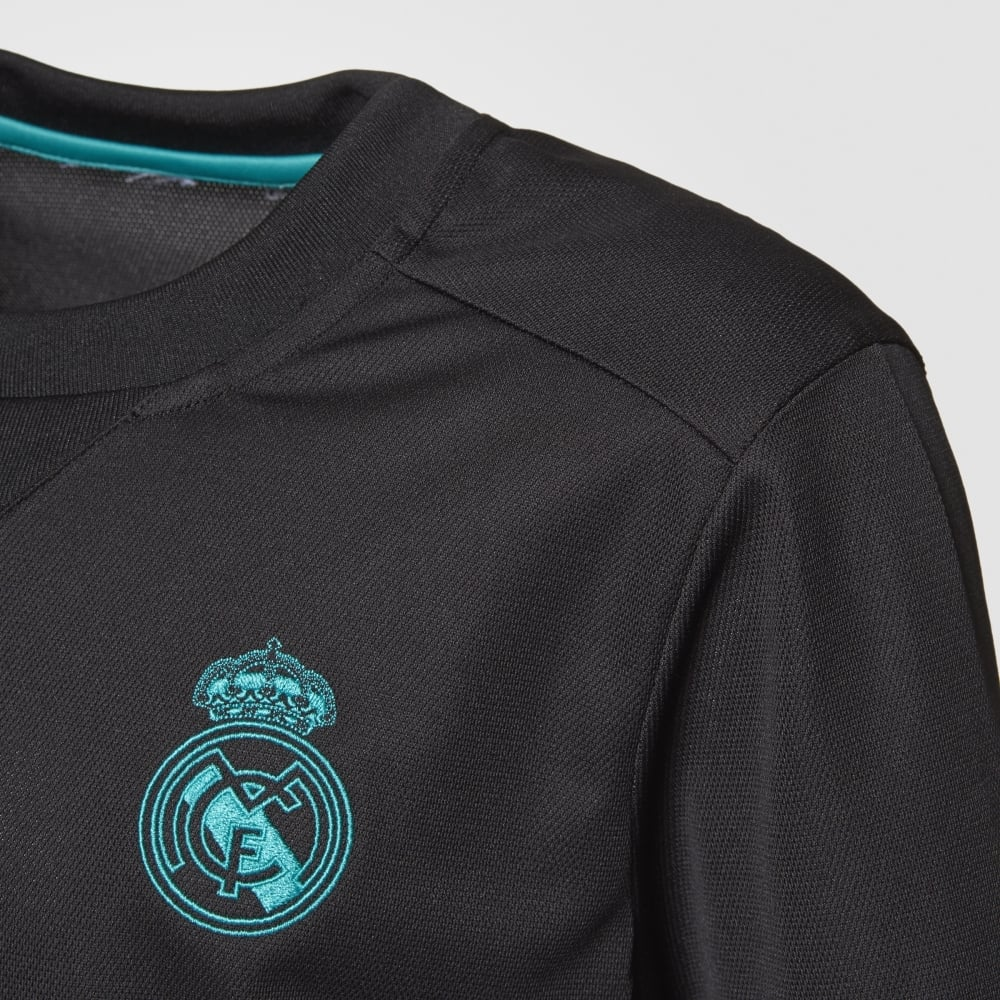 release date d3064 2d897 Kids Real Madrid Away Jersey 17/18