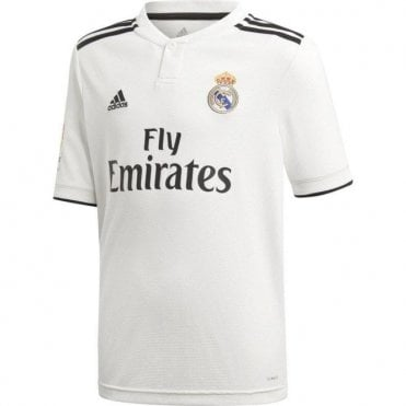 Kid's Real Madrid Home Jersey 18/19