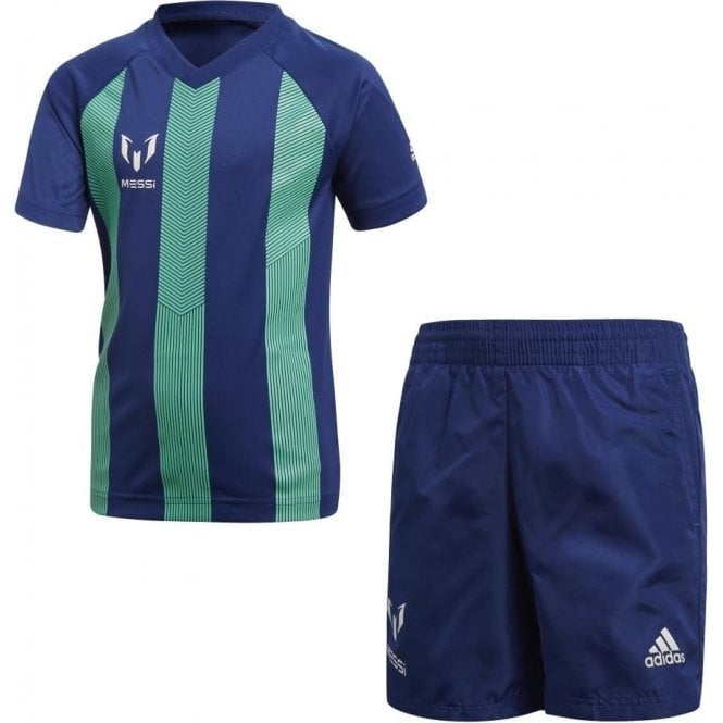 Adidas Little Boys Messi Set