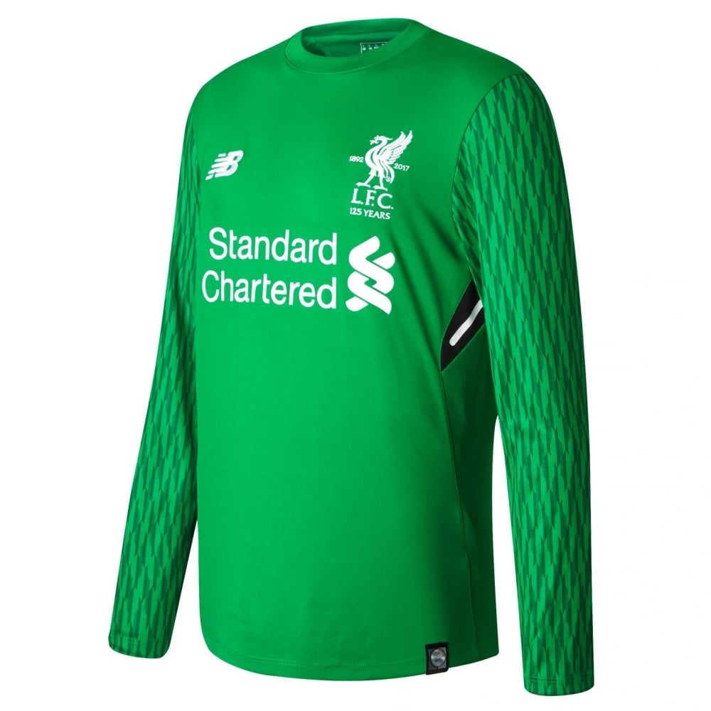 watch ec0af e4bee Liverpool 17/18 Home GK Jersey