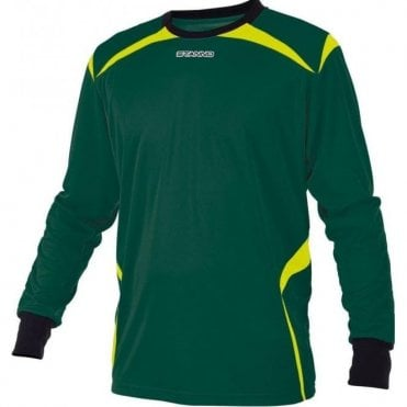 LIVORNO GOALKEEPER LS JERSEY GREEN/BLACK (PRICE BASED ON A MINIMUM BUY OF 6 PIECES)