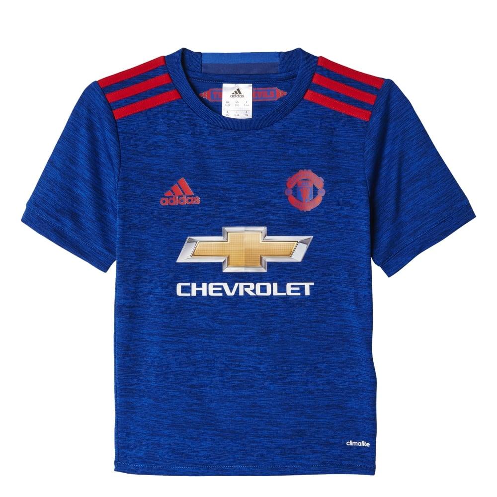 buy popular d5f75 b7ee5 MAN UNITED FC AWAY MINI KIT