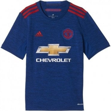 MAN UNITED REPLICA SS JNR JERSEY