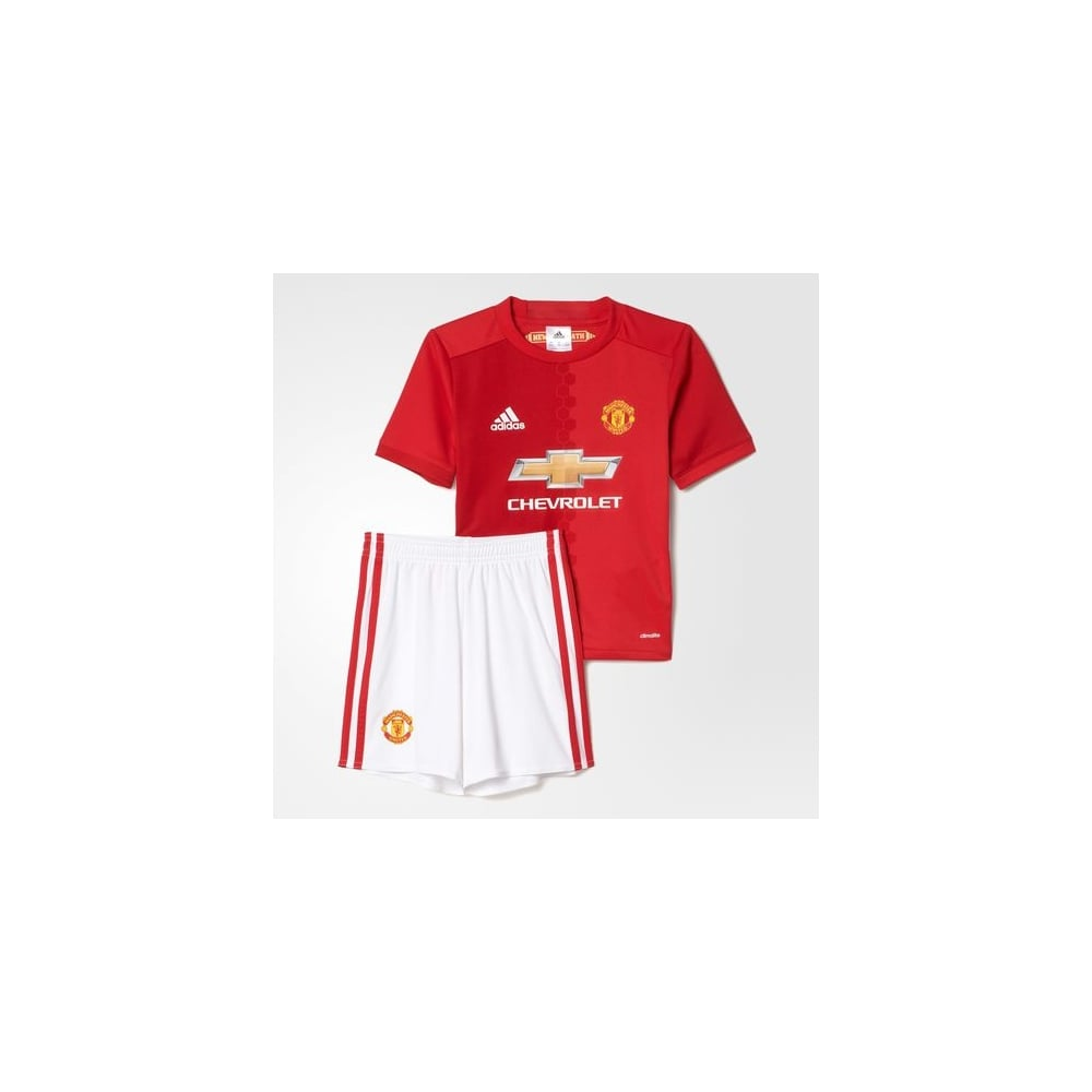 buy popular 112af 20d1a MANCHESTER UNITED FC HOME MINI KIT