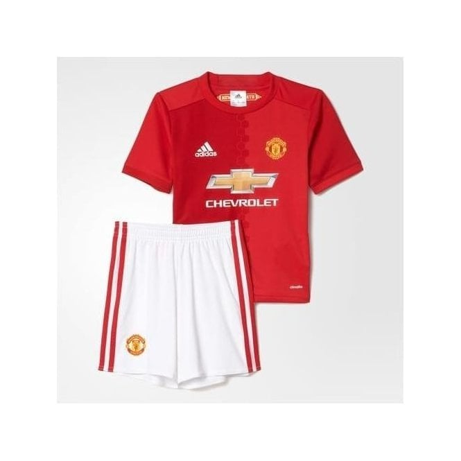 Adidas MANCHESTER UNITED FC HOME MINI KIT