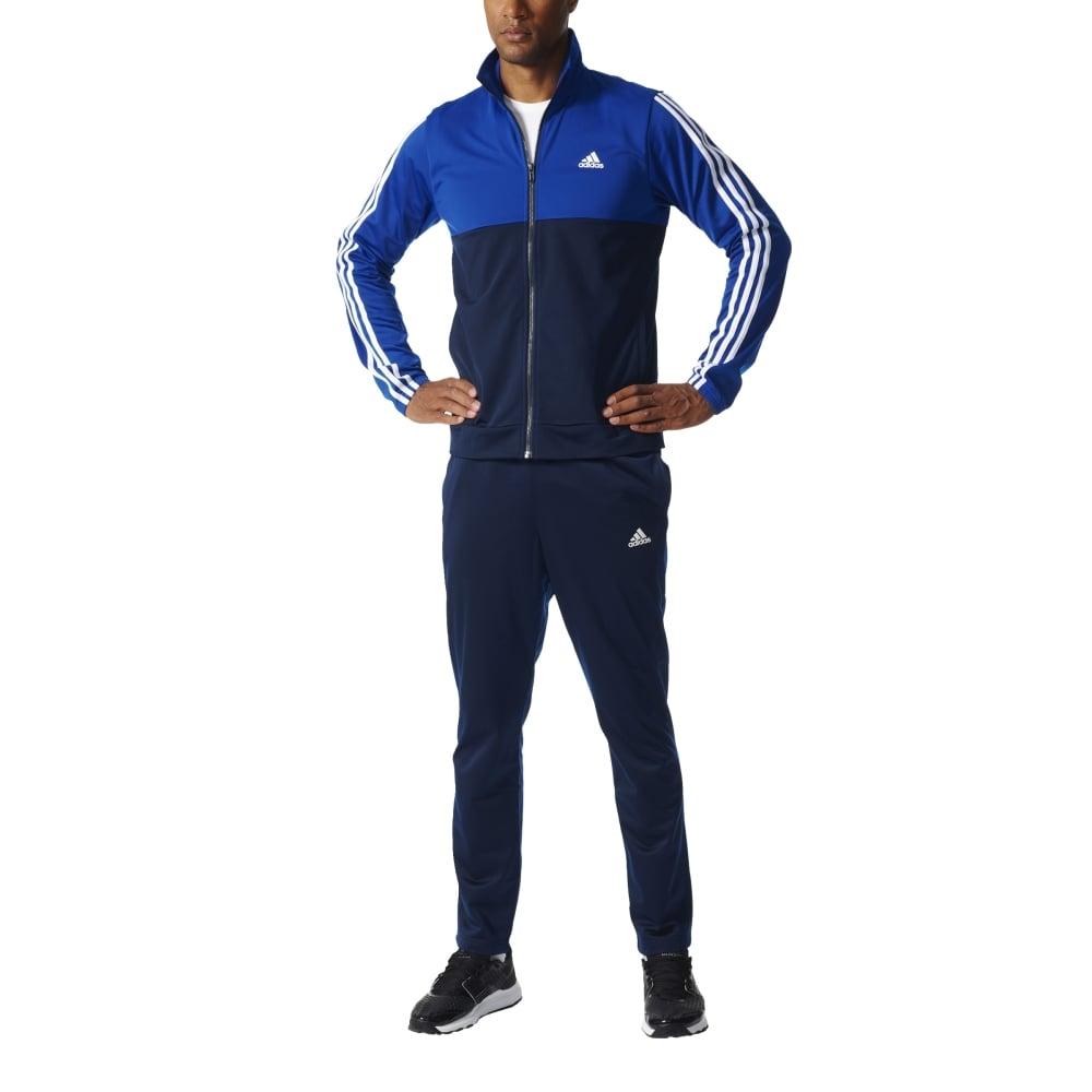 a690311b2644 adidas Men s Back 2 Basics 3-Stripes Track Suit
