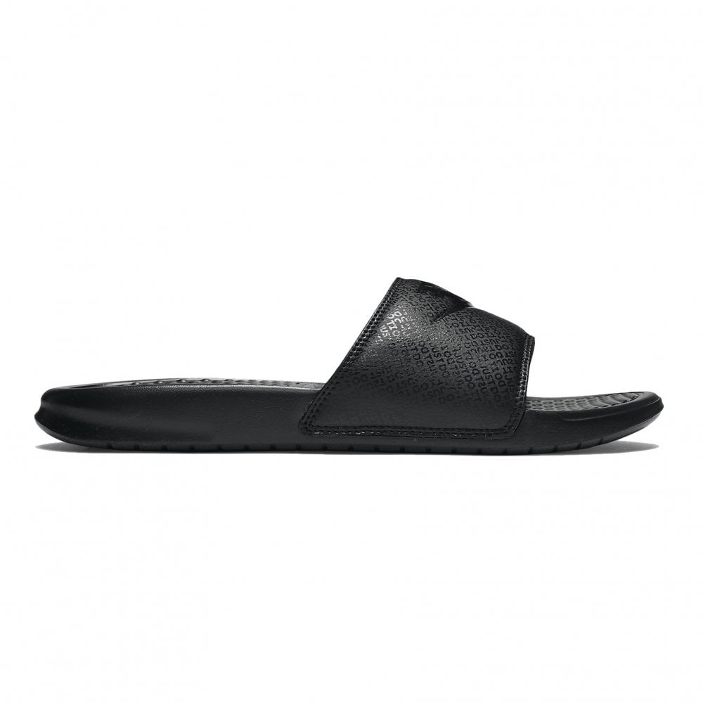 Men  039 s Benassi Slides Black b12d16d88