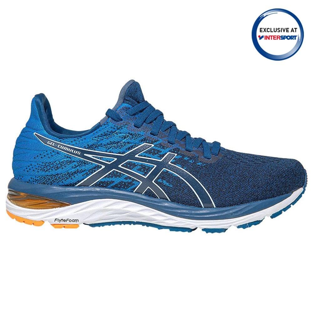 Asics Men's Gel-Cumulus 21 Knit Blue Running Shoes   BMC Sports