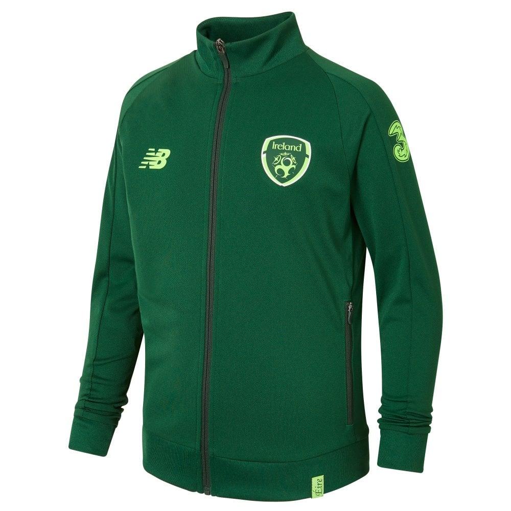 c653079c1c7ad New Balance Men's Ireland Training Presentation Jacket | BMC Sports