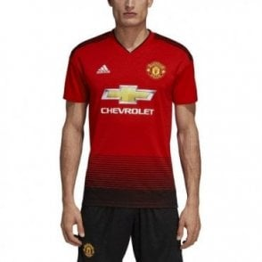 Men's Man United Home SS Jersey 18/19