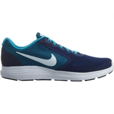 Mens Revolution 3 Running Shoe Navy