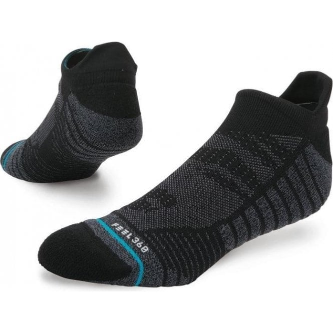 Stance Men's Training Uncommon Solids Tab Sock Black