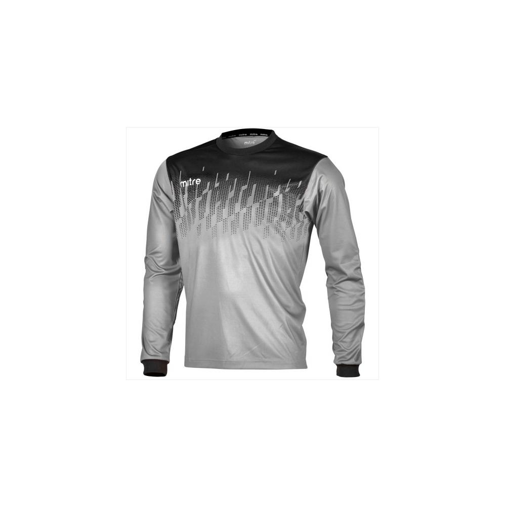 acc3b5da7 Mitre Command Goalkeeper Jersey Silver Black
