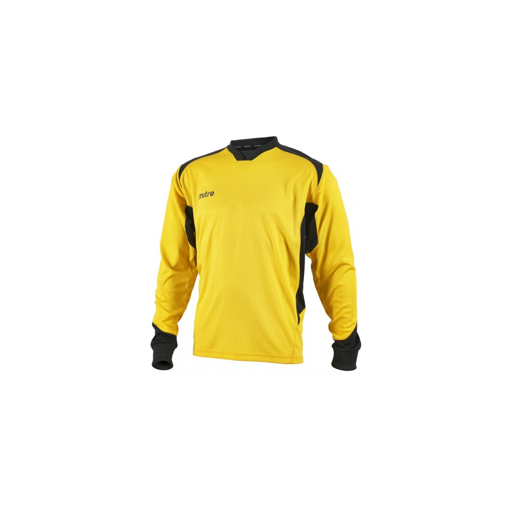 087471c5ae5 Mitre Defense Goalkeeper Jersey Yellow Black