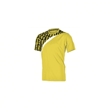 Mitre Invader Jersey Yellow/Black/White