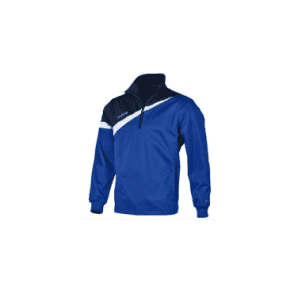 Mitre Polarize 1/4 Zip Poly Top Royal/Navy/White
