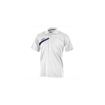 Mitre Polarize Polo Shirt White/Navy