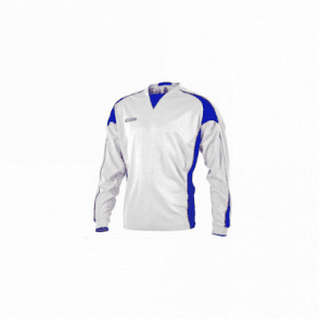Momentum Jersey LS White/Royal/Scarlet