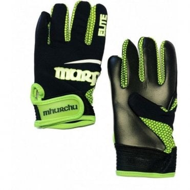 GAELIC GLOVES ELITE-BLACK-BRIGHT GREEN