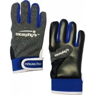 Gaelic Gloves Grey/Blue